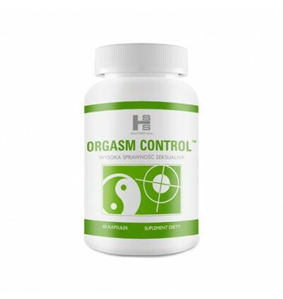 Orgasm Control tabletki - suplement na wydłużenie stosunku