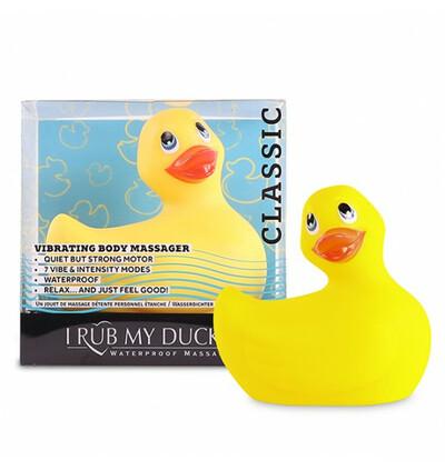 I Rub My Duckie 2.0 - miniwibrator w kształcie kaczuszki