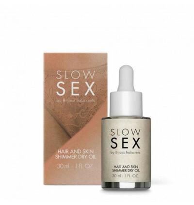 Slow Sex - Olejek nawilżający do włosów i ciała