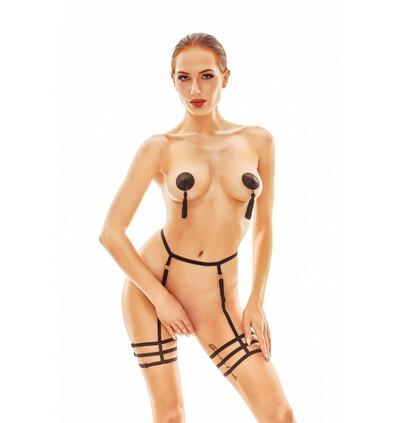 Mellia  - Czarny harness