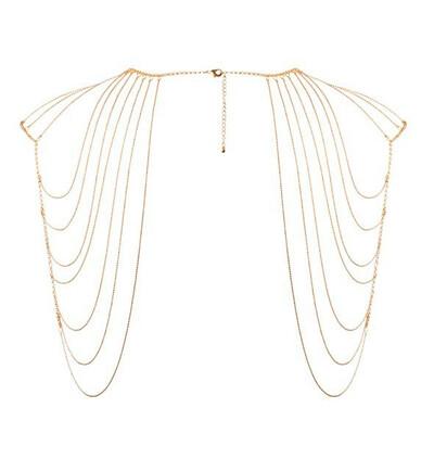 Bijoux Indiscrets Magnifique - łańcuszek na ramiona, złoty