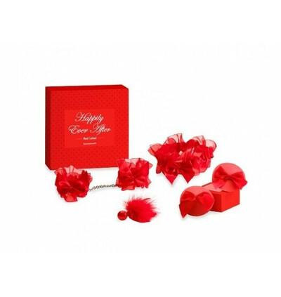 Bijoux Indiscrets Happily Ever After - zestaw na noc poślubną, czerwony