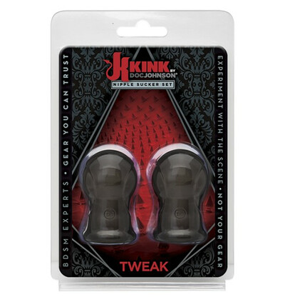 Kink Tweak - Nipple Sucker Set - przyssawki na sutki