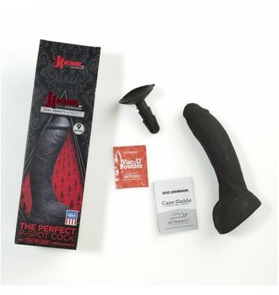 Kink by DocJohnson  Kink The Perfect P-Spot Cock, Vac-U-Lock, dildo z przyssawką