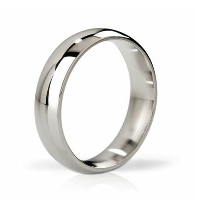Mystim His Ringness Earl polerowany 48mm - metalowy pierścień erekcyjny