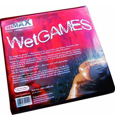 SexMAX WetGAMES Sex-Laken 180x 180cm - Prześcierdało winylowe