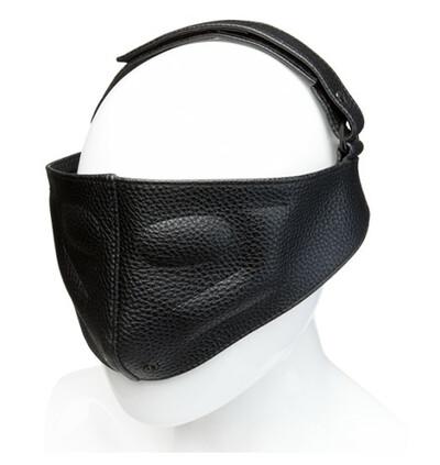 Kink Leather Blinding Mask - skórzana maska na oczy