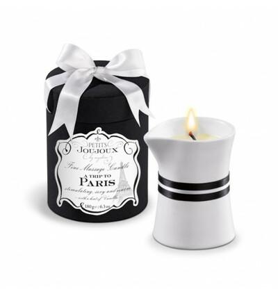 Świeca do masażu  - paryż - wanilia i sandałowiec
