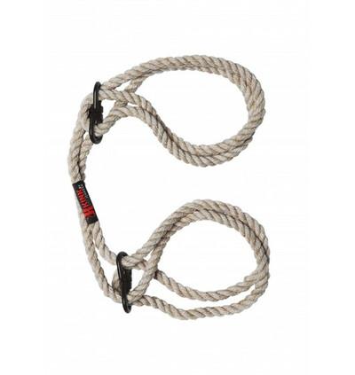 Kink Hogtied Bind & Tie - kajdanki z liny do krępowania