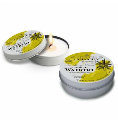Świeca do masażu  - waikiki - kokos i ananas