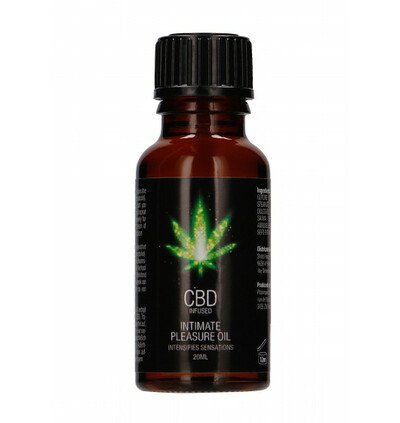 Shots CBD Intimate Pleasure - olejek do masażu