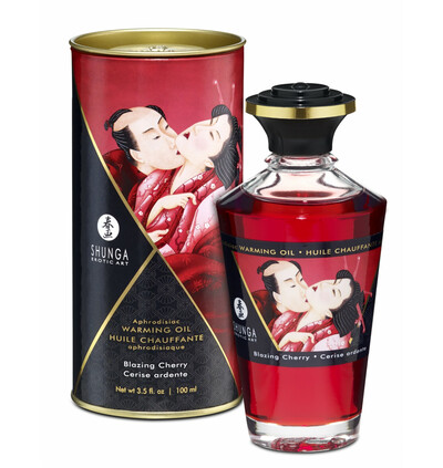 Aphrodisiac blazing cherry - olejek do masażu