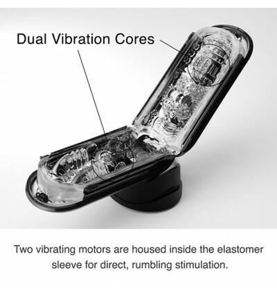 Flip Zero Electronic Vibration - masturbator wibrujący