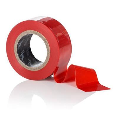 Scandal  Lovers Tape - taśma do krępowania ciała, czerwony