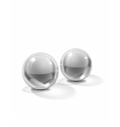 Icicles No. 42 Ben Wa Balls Small - Szklane kulki gejszy