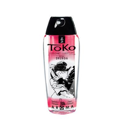 Toko aroma strawberry - lubrykant na bazie wody
