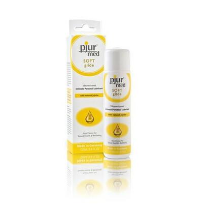 Med Soft glide - lubrykant silikonowy z olejkiem jojoba