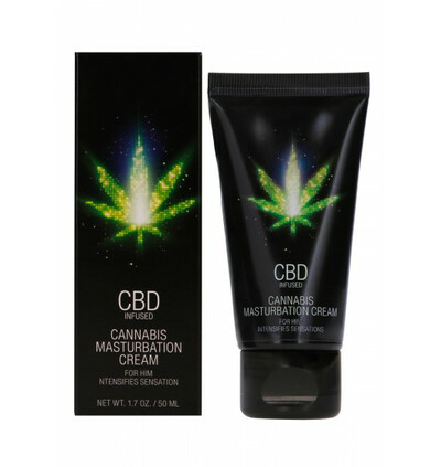 Shots CBD Cannabis Masturbation -krem z CBD do masturbacji dla Panów