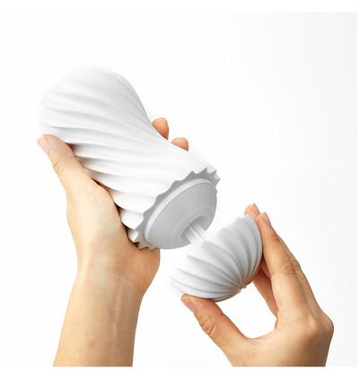 Tenga - Flex (biały) - masturbator klasyczny