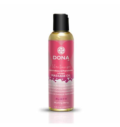 Dona Scented Massage Oil Blushing Berry 125 ml - Olejek do masażu