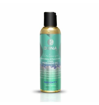 Dona Scented Massage Oil Sinful Spring 125 ml - Olejek do masażu