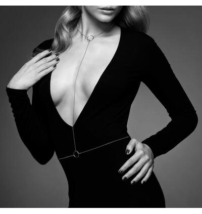 Bijoux Indiscrets Magnifique I Body Chain - Łańcuszek, Srebrny
