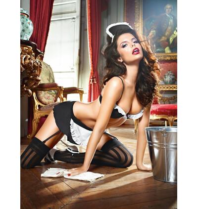 Baci Dirty Laundry French Maid Set - Przebranie pokojówki