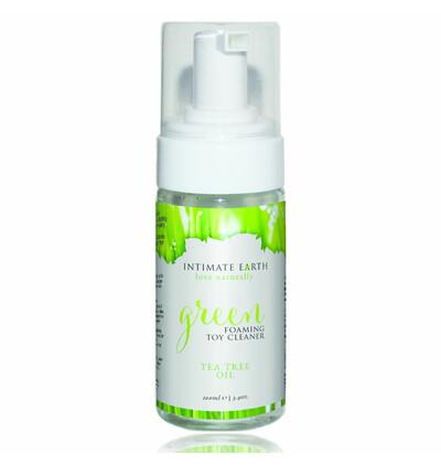 Intimate Organics Green Tea Toycleaner 100 ml - Organiczny żel czyszczący akcesoria