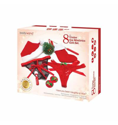 Bodywand Under the Mistletoe Gift Set 8 pcs  - Zestaw prezentowy