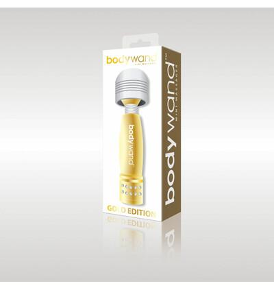 Bodywand Mini Massager - Wibrator Wand, złoty