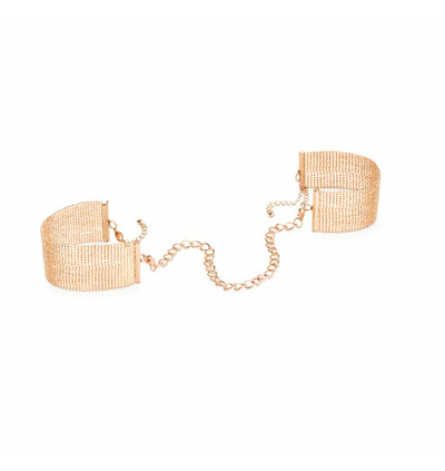 Bijoux Indiscrets Magnifique Handcuffs - Kajdanki, Złoty