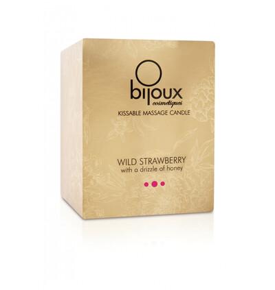 Bijoux Cosmetiques Wild Strawberry Massage Candle - świeca do masażu, Truskawka