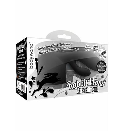 Bodywand Recharge Rabbit Attachment  - Końcówka do masażera ,  czarny