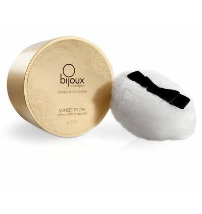Bijoux Cosmetiques Soft Caramel Body Powder - Puder do ciała, Karmel