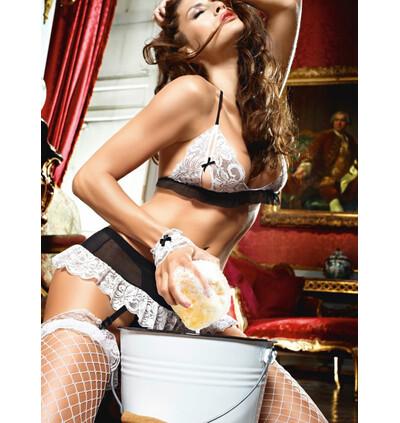 Baci Do Not Disturb French Maid Set - Przebranie pokojówki