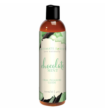 Intimate Earth Natural Flavors 60 ml - organiczny lubrykant na nazie wody, Solony karmel