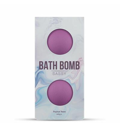 Dona Bath Bomb Sassy Tropical Tease Bath 140 gram - Bomba do kąpieli