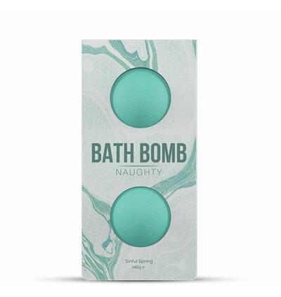 Dona Bath Bomb Naughty Sinful Spring Bath 140 gram - Bomba do kąpieli