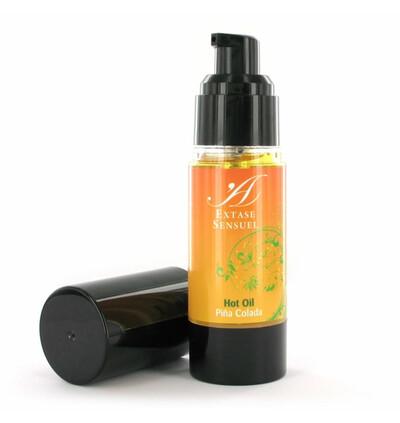 Extase Sensuel Hot Oil Pina Colada - Olejek rozgrzewający do masażu