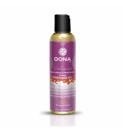 Dona Scented Massage Oil Tropical Tease 125 ml - Olejek do masażu