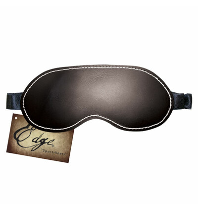 Sportsheets Edge Leather Blindfold - Opaska na oczy