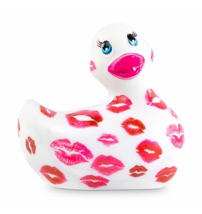 Masażer kaczuszka - I Rub My Duckie 2.0 Romance, Biały i Różowy
