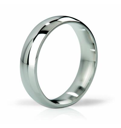 Mystim His Ringness Earl polerowany 51mm - metalowy pierścień erekcyjny