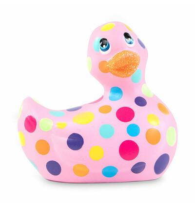 Masażer kaczuszka - I Rub My Duckie 2.0 Happiness, Wielokolorowy