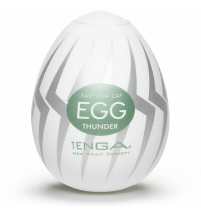 Tenga Egg Thunder - masturbator w kształcie jajka