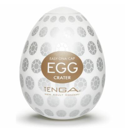 Tenga Egg Crater - masturbator w kształcie jajka (6szt)