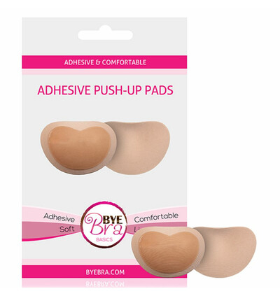Bye Bra  Adhesive Push Up Pads - Wkładki przylepne do stanika, cielisty