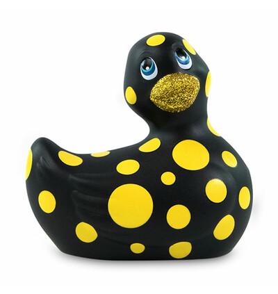 Masażer kaczuszka - I Rub My Duckie 2.0 Happiness, Czarny i żółty