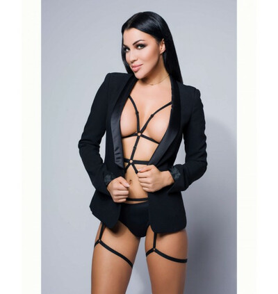 Promees Vanessa black body harness - harness one size