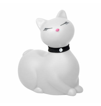 I Rub My Kitty - miniwibrator w kształcie kotka, biały